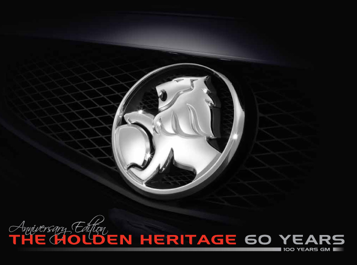 Holden Heritage Cover